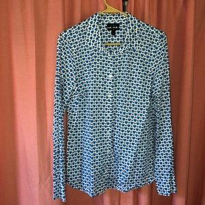 NWOT J. Crew Perfect button up